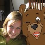 Selfie mit Bär
