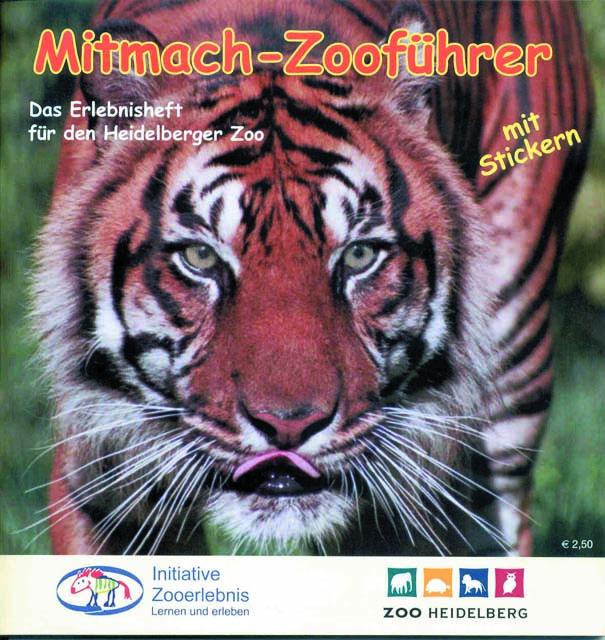 Zoo Heidelberg Mitmach Zooführer Cover