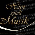 Kalender mit Musik Noten auf dem Cover