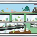 iPhone App Spiel Fishtank Manager