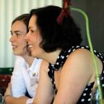 Medien Meeting Mannheim Carmen Egolf und Isabell Mende