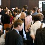 Medien Meeting Mannheim Teilnehmer im Bootshaus Mannheim
