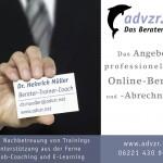 Postkarte für Berater Vorderseite