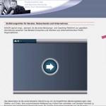Screenshot Berater Webseite Werbebanner